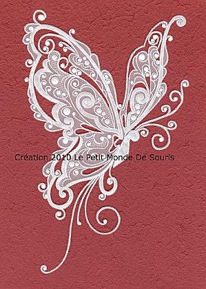 papillon pergamano copyright - gorgeous butterfly - simply elegant