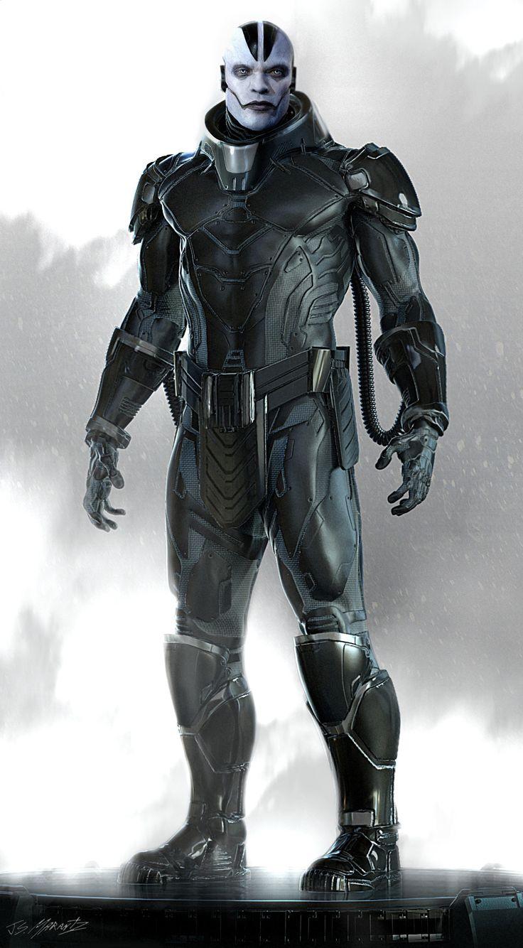ArtStation - X- Men Age of Apocalypse: Apocalypse Concept Art, Jerad Marantz