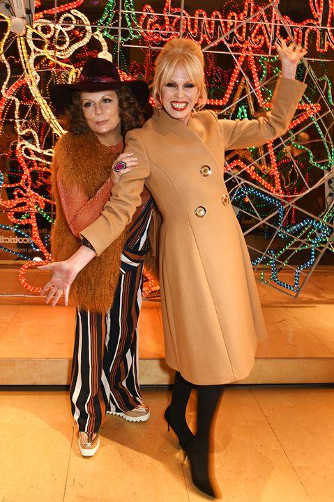 Patsy and Edina at Stella McCartney event                                                                                                                                                      More