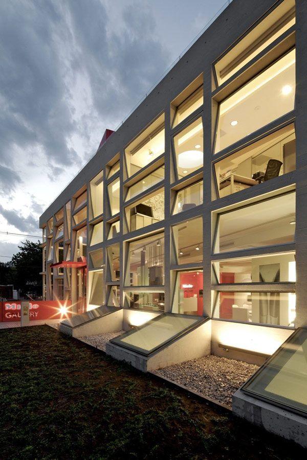 Miele Commercial Gallery Design, Santiago Chile.