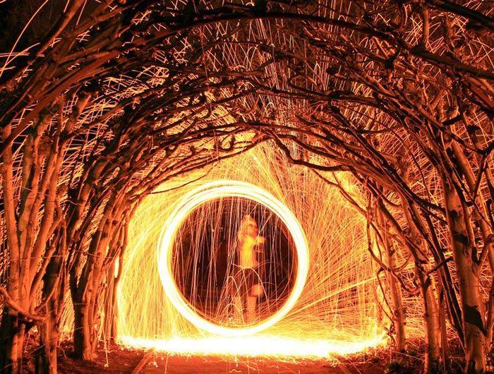 Steel Wool Photography - Long Exposure, Nicole Lisa Photography