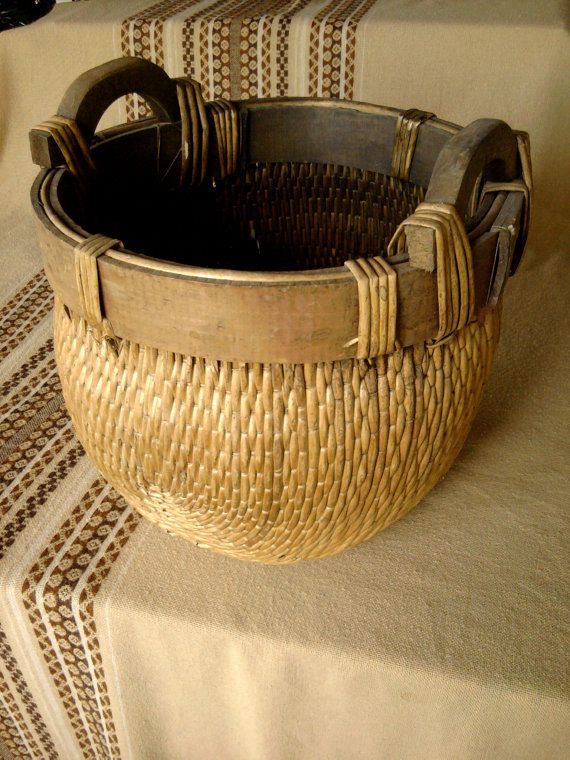 Basket Weaving With Reeds : Best images about baskets weaving knots on
