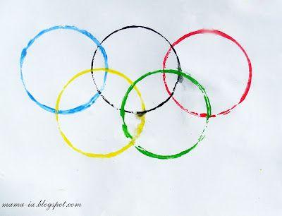 Поделки к олимпиаде.: В нашем доме есть дети