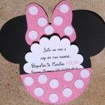 Invitación de cumpleaños de Minnie Mouse