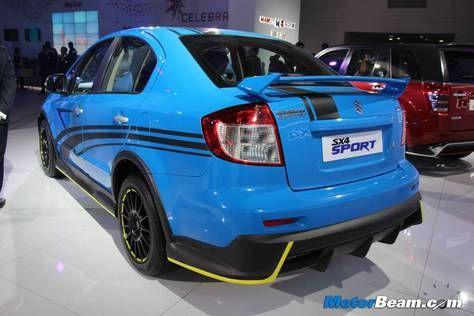 Suzuki SX4 sedan tampil lebih keren dengan seri sport-nya. Dengan jubah baru dan tambahan berbagai aksesoris nan mantap, SX4 Sport terlihat lebih istimewa.