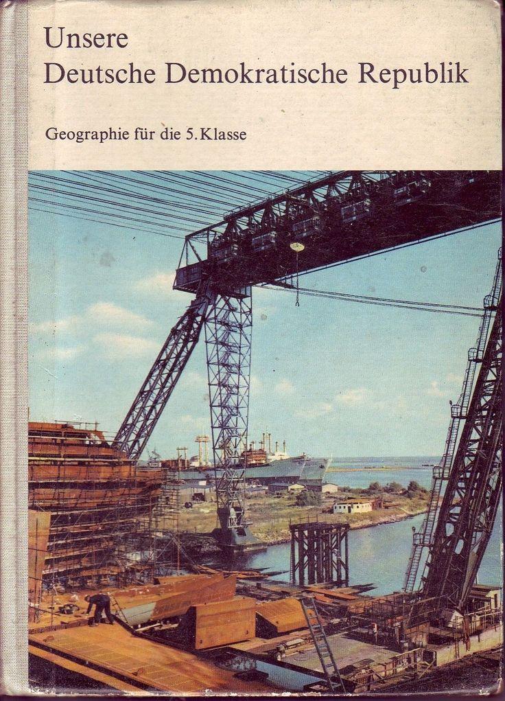 DDR Lehrbuch Klasse 5/Geographie/Volk und Wissen 1969/Unsere DDR/GDR | eBay