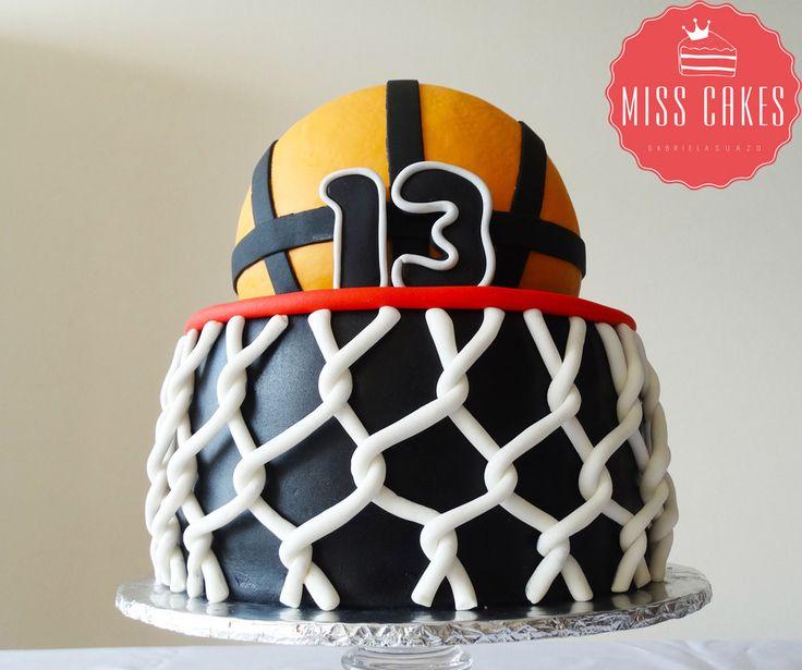 Children Cake, Torta Infantil, Basquetball Cake