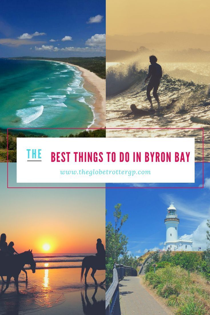 20 OF THE BEST THINGS TO DO IN BYRON BAY, AUSTRALIA. Travel to Byron Bay and tick of this bucket list of must-see places and fun adventure activities in Byron Bay, new south wales. The light house, surfing, markets, sunsets, hinterland, waterfalls, beaches, activities, food and restaurants | Fun things to do in Byron Bay | Great things to do in Byron Bay | Best places to visit in australia #byronbay #australia #thingstodo #places