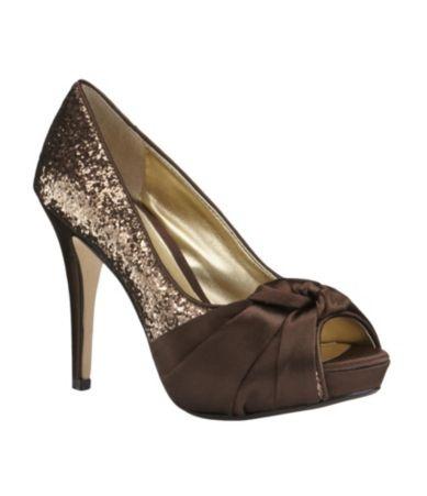 Chocolate Brown Shoe Boots High Heels