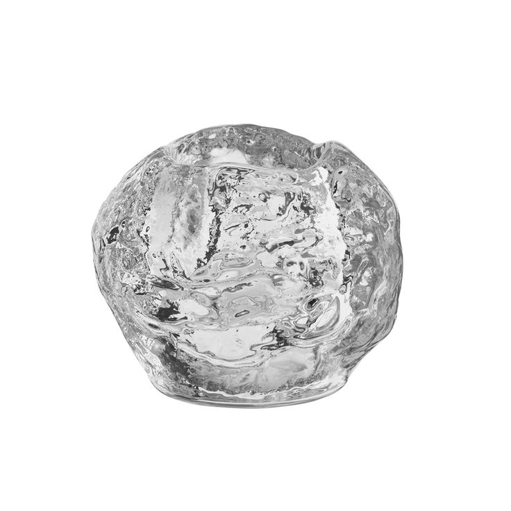 """Scandinavianshoppe.com - Nordic Lights Snowball Votive - Kosta Boda - H: 2.75"""" W: 2.75"""", $35.00 (https://scandinavianshoppe.com/products/nordic-lights-snowball-votive-kosta-boda-h-2-75-w-2-75.html)"""