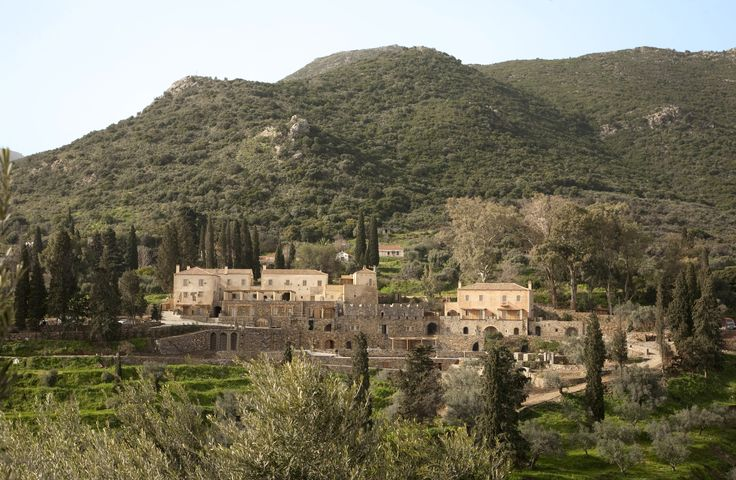 Escape the urban sprawl and relax in the Greek countryside