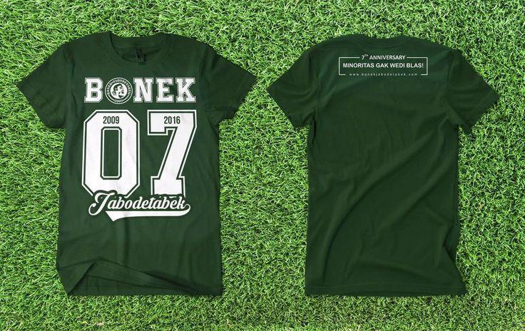 Pre-Order T-Shirt Anniversary Bonek Jabodetabek