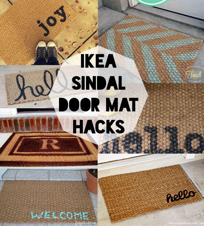 Ikea Sindal Five Dollar Door Mat Hacks
