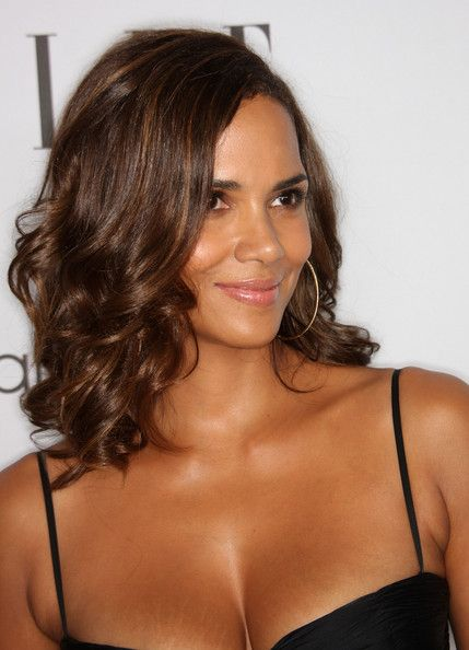 Halle Berry hair colour