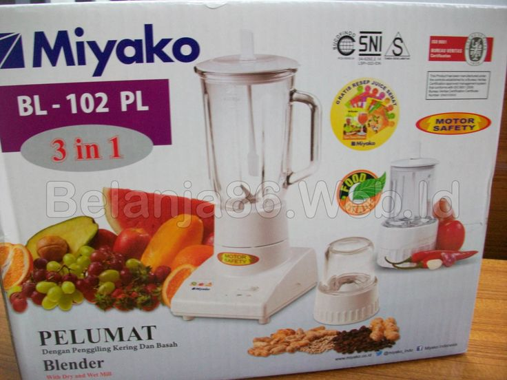 Blender Miyako BL-102PL 3 in 1 with Dry and Wet Mill
