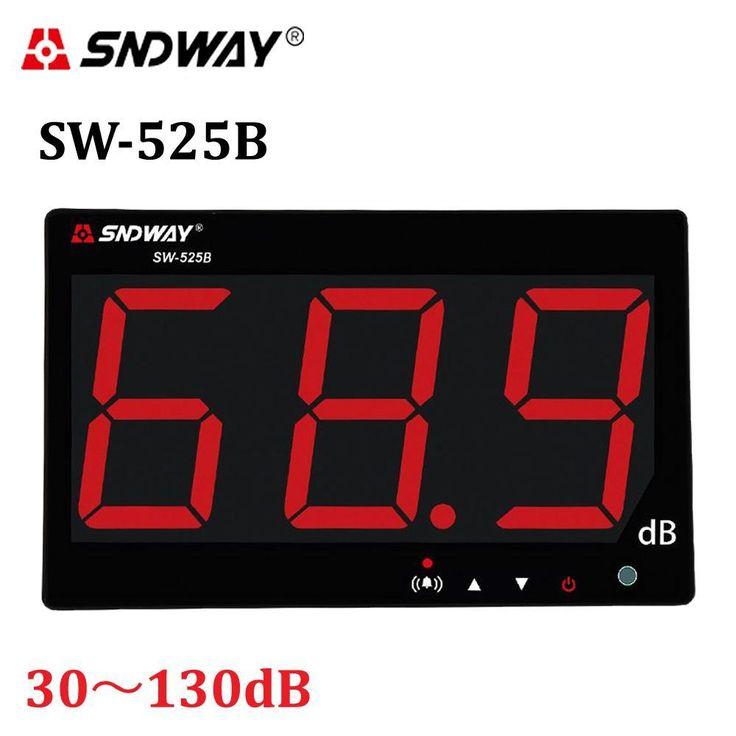Digital Sound Level Meters 30-130Db Data To Pc Via Usb Wall Hanging Type Noise Decibel Monitoring