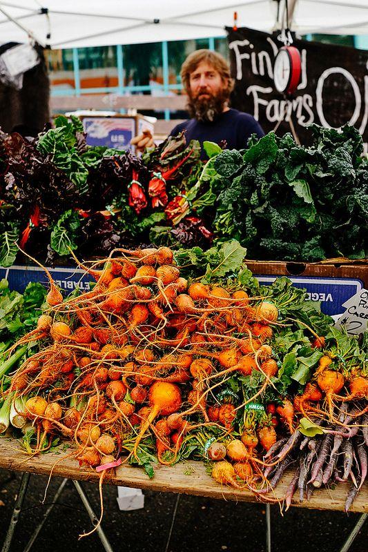 Farmers Market Carrots, Santa Monica Farmers Market, Greater Los Angeles, CA