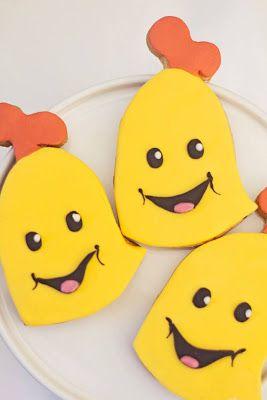 Bananas in Pyjamas cookies