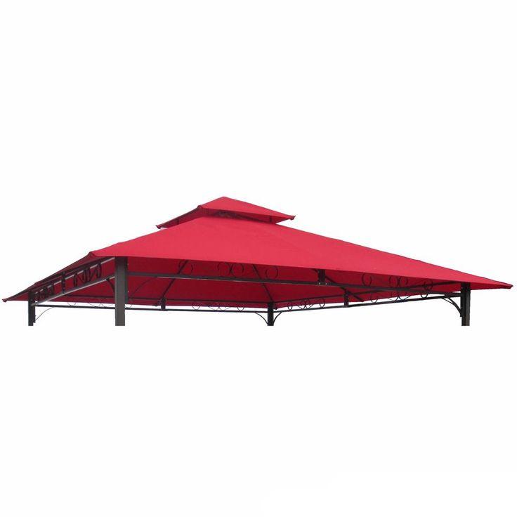 International Caravan St. Kitts Replacement Canopy for 10 ft. Canopy Gazebo