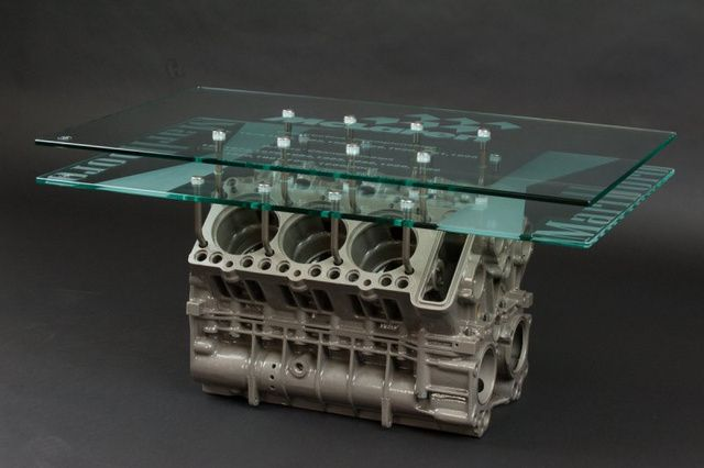 17 best images about engine block coffee table on