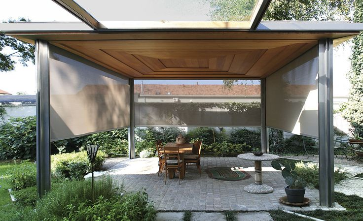 Open your Space #roofs #house #architecture #design #light #windows #veranda #garden