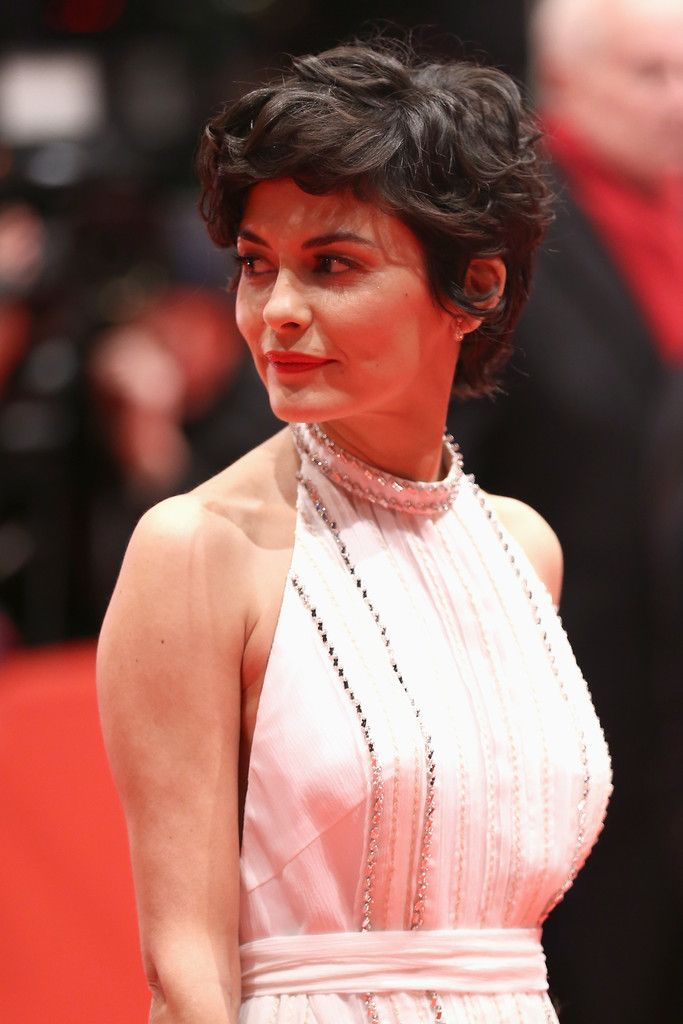 Audrey Tautou Short Curly Hair Best Short Hair Styles