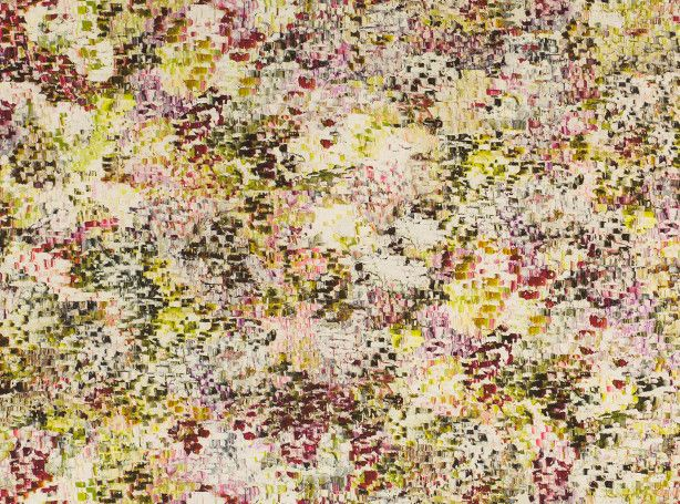 Breathe Velvet Wild Flower - 'Desire' by Jessica Zoob - Printed Velvet : Designer Fabrics & Wallcoverings, Upholstery Fabrics, by Romo