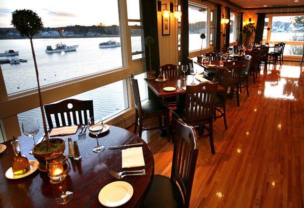 Menu For Allison S Restaurant In Kennebunkport Maine