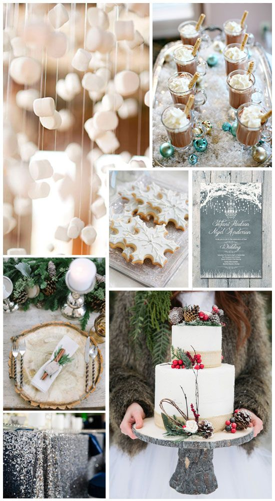 Winter Wonderland Party Inspiration! Perfect for those parties in December that aren't related to Christmas!