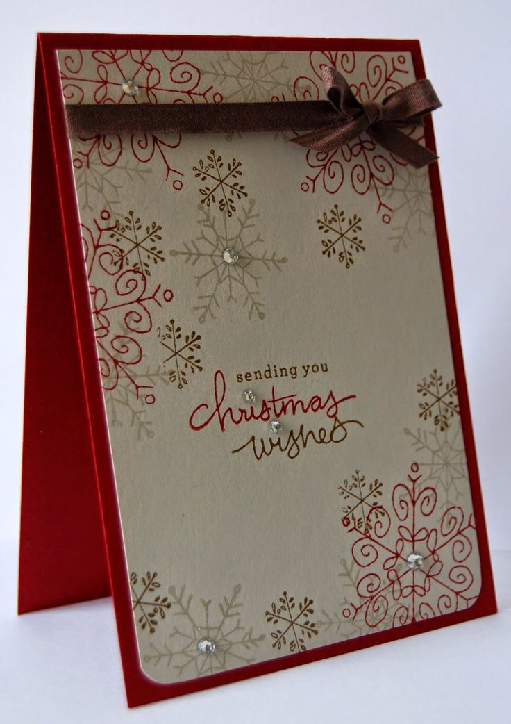 SU! Endless Wishes stamp set; Soft Suede, Cherry Cobbler and Versamark ink; Cherry Cobbler and Sahara Sand cardstock - Julie Kettlewell