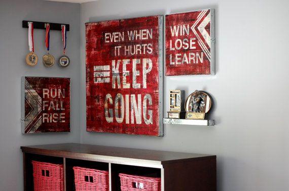 cool teen boy room idea