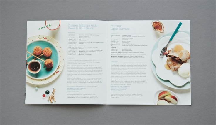 FOODLAND SPRING RECIPE BOOK 2012 on Behance