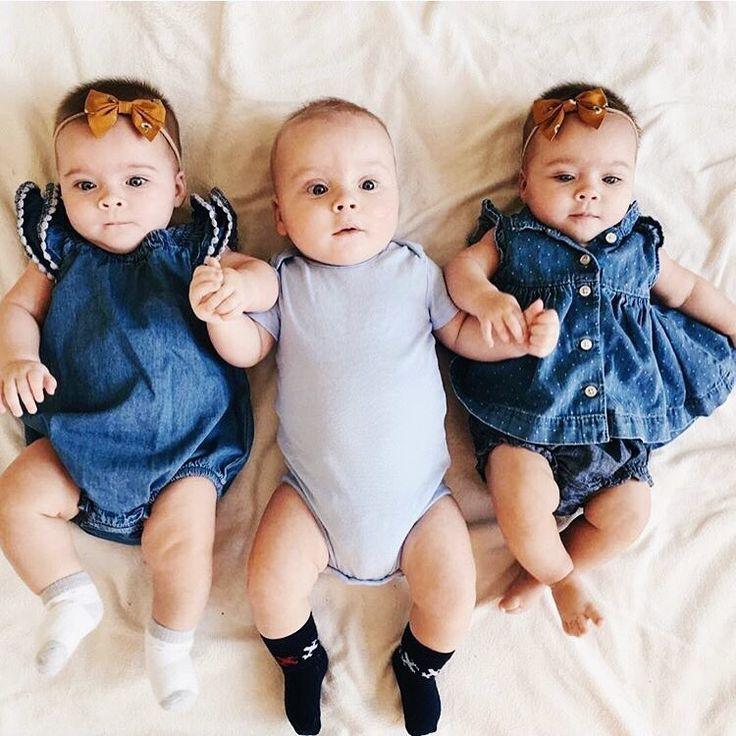 Картинка тройня детей