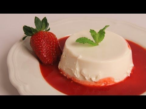 Panna Cotta and a great berry sauce I can use on other deserts... [by Laura Vitale]