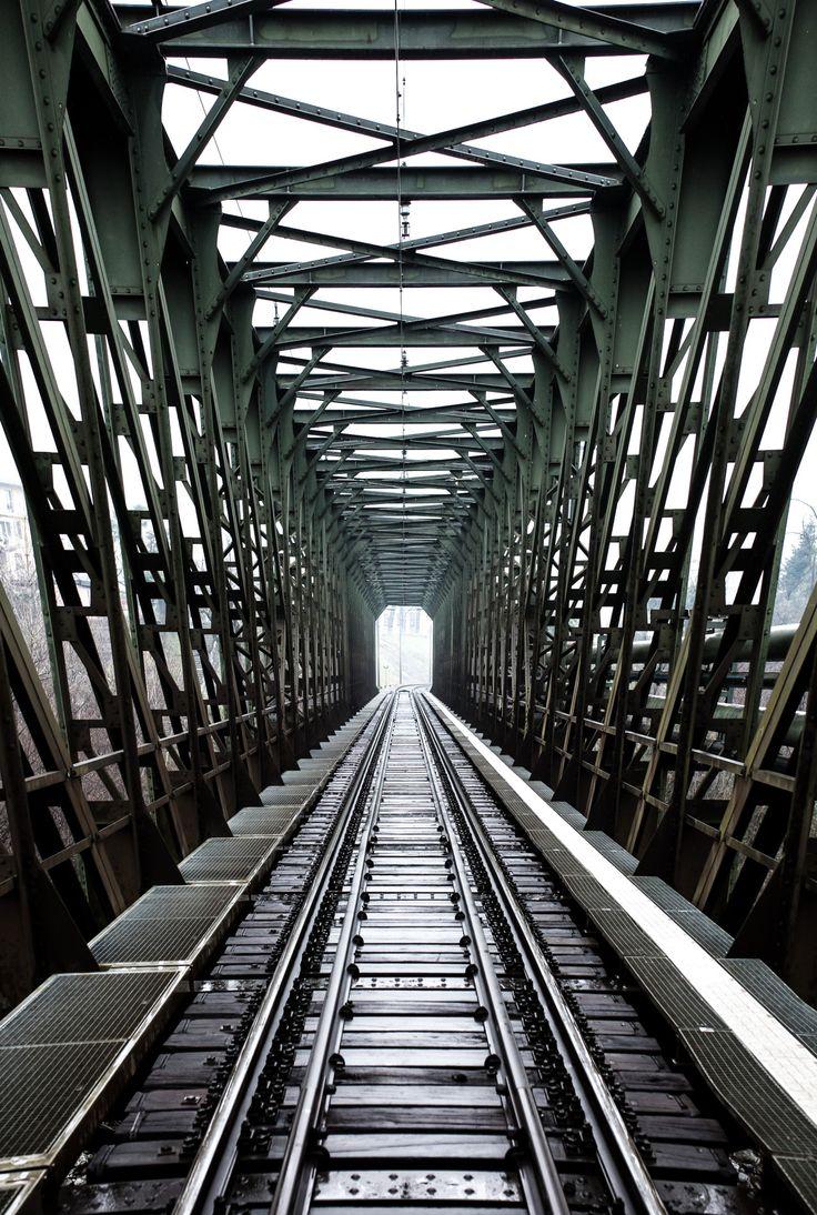 C.D.K - Swiss rail bridge ( Photography by C.D.K )