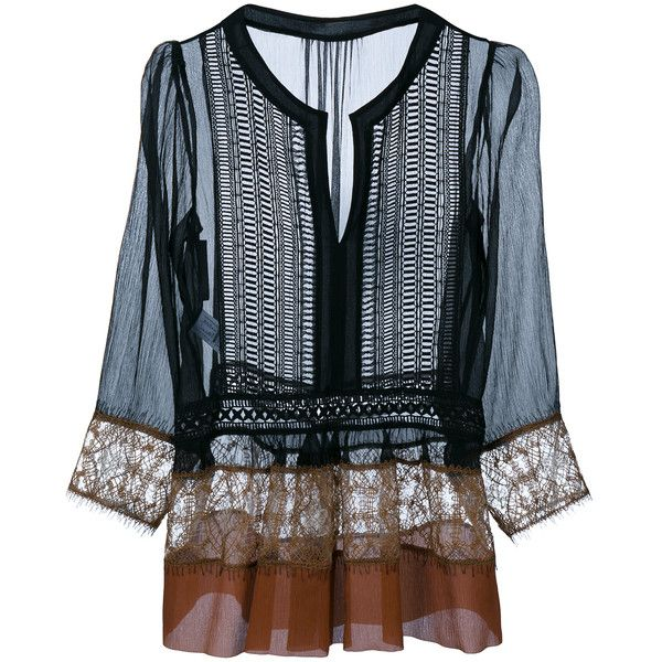 See Through Lace Tops For Women - ShopStyle