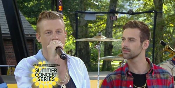 New Video: Macklemore and Ryan Lewis Performing Live on GMA Concert Series + Interview