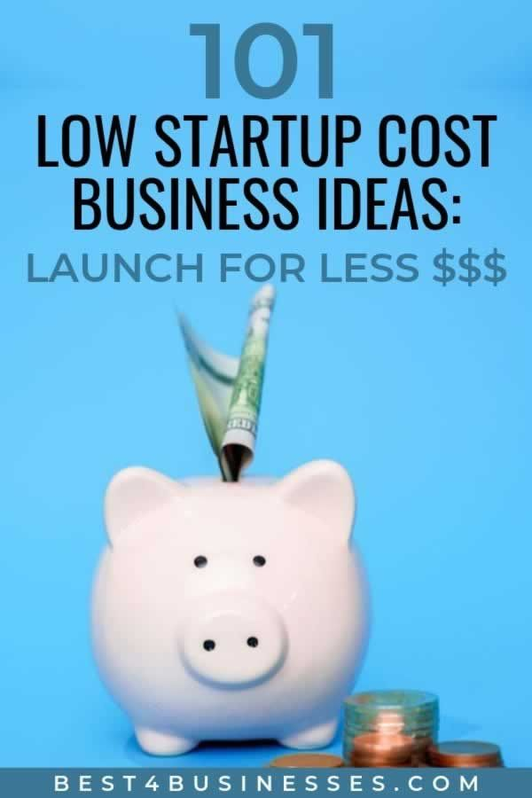 Low Cost Business Ideas Startup Under