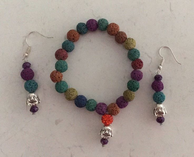 A personal favourite from my Etsy shop https://www.etsy.com/au/listing/514315768/lucky-buddha-jewelery-set-lava-beads