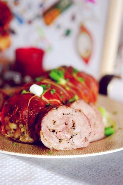 Rulada aromata de porc