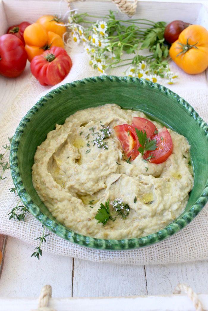 Whipped Roasted Eggplant Dip ( Salata de Vinete) | CiaoFlorentina.com @CiaoFlorentina