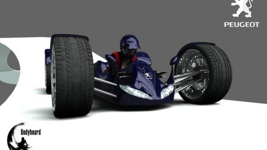 Bodyboard The Lie Down Electric Go Kart Battery
