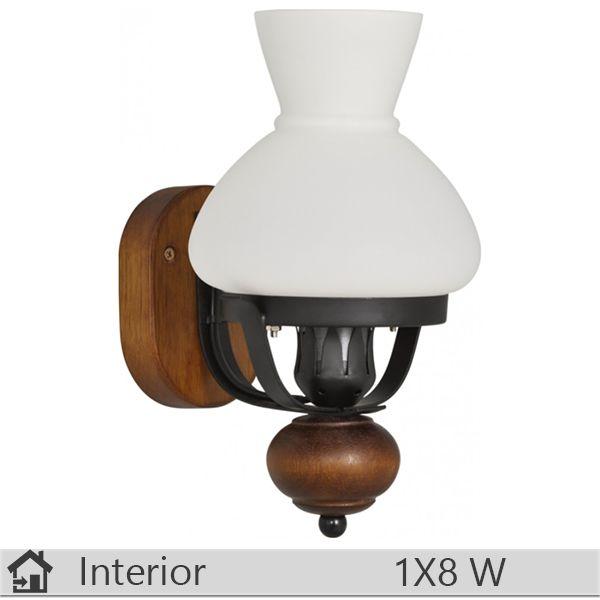Aplica iluminat decorativ interior Klausen, gama Retro, model AP1 http://www.etbm.ro/aplica-iluminat-decorativ-interior-klausen-gama-retro-model-ap1