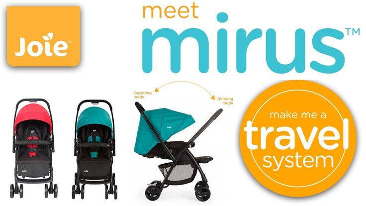 Now, Joie Mirus Stroller - Ladybird available in Baby-Direct