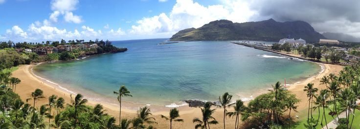 Check out the view from Marriott's Kauai Beach Club #Hawaii #beach #vacation