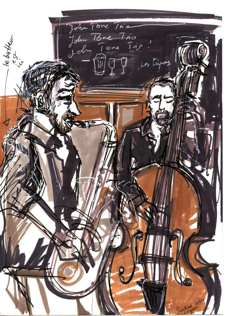 John Tone Trio, @ Pauline Lugon 2014