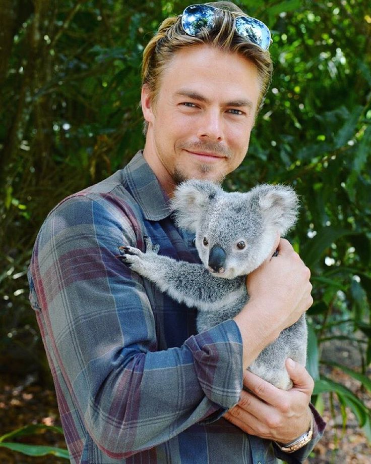 """Finally got to meet Derek Hough the Koala. Don't tell anyone,but I'm stealing him and bringing him home with me. #australiazoo #loveanimals…"""