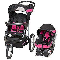 Baby Trend Expedition Jogger Travel System, Bubble Gum pink