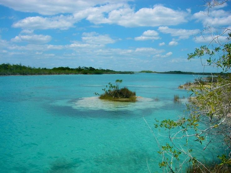 Lake of Seven Colors, QR, Mexico Places I have lived or