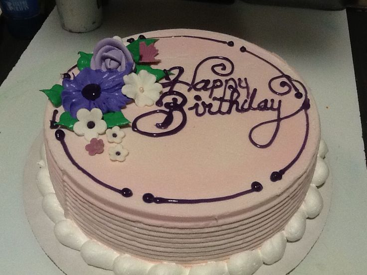 DQ Dairy Queen cakes...Flowers